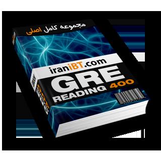 منابع و نمونه سوالات آزمون GRE دانلود کتاب الکترونیکی GRE Reading 400