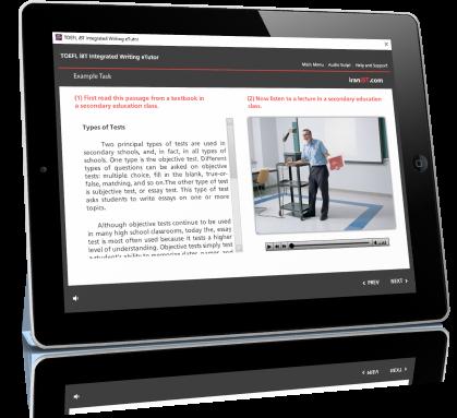 آموزش کامل مهارتهای TOEFL iBT Integrated Writing