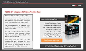 TOEFL iBT Integrated Writing Practice Test