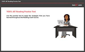 TOEFL iBT Reading Practice Test